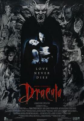 Dracula Movie Poster 24x36 - Fame Collectibles