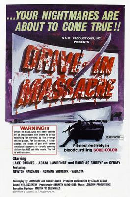Drive In Massacre Movie Poster 24x36 - Fame Collectibles