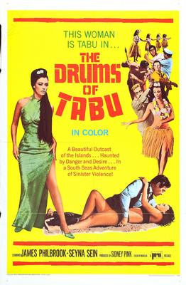 Drums Of Tabu Movie Poster 24x36 - Fame Collectibles
