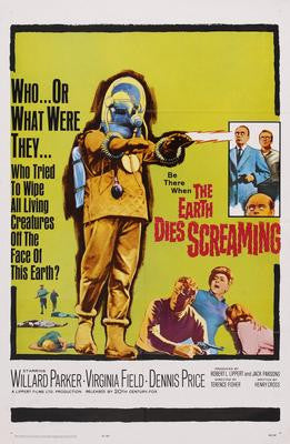 Earth Dies Screaming The Movie Poster 24x36 - Fame Collectibles