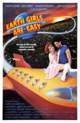Earth Girls Are Easy Movie Poster 24in x 36in - Fame Collectibles