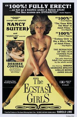 Ecstasy Girls The Movie Poster 24x36 - Fame Collectibles