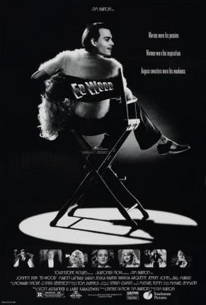 Ed Wood Movie Poster 24x36 - Fame Collectibles