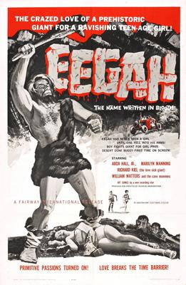 Eegah Movie Poster 24x36 - Fame Collectibles
