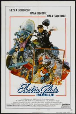 Electra Glide In Blue Movie Poster 24in x 36in - Fame Collectibles