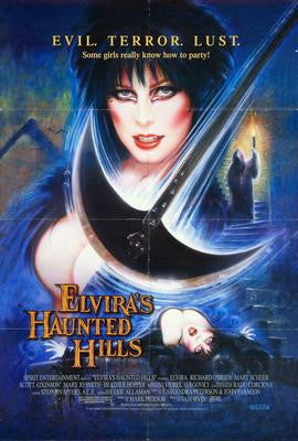 Elviras Haunted Hills Movie Poster 24x36 - Fame Collectibles