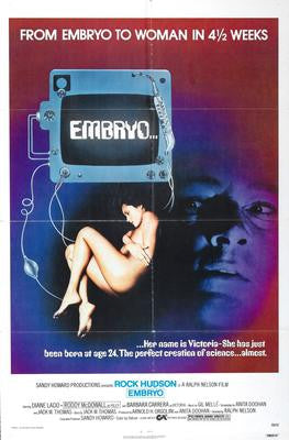 Embryo Movie Poster 24x36 - Fame Collectibles