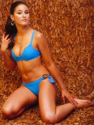 Emmanuelle Chriqui Poster 24x36 blue bikini 24x36 - Fame Collectibles