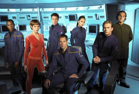 Enterprise Cast Poster 24x36 - Fame Collectibles
