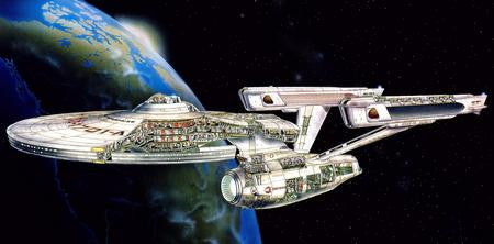 Enterprise Cutaway Poster 24x36 - Fame Collectibles