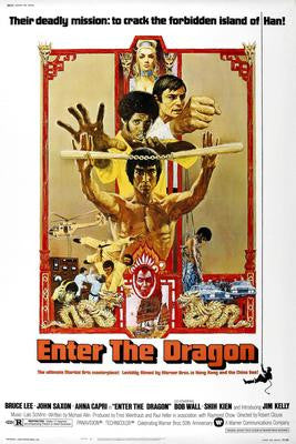 Enter The Dragon Movie Poster 24x36 - Fame Collectibles