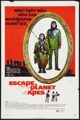 Escape From The Planet Of The Apes Movie Poster 24in x 36in - Fame Collectibles