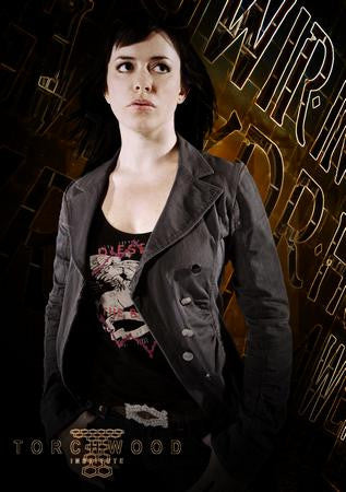 Eve Myles Poster Gwen Torchwood #1 24x36 - Fame Collectibles
