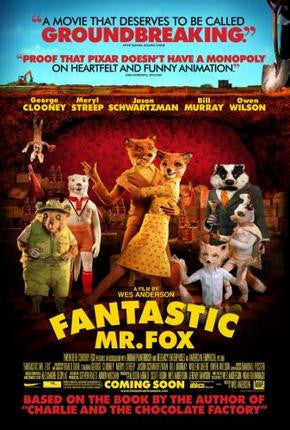 Fantastic Mr Fox Movie Poster 24x36 - Fame Collectibles