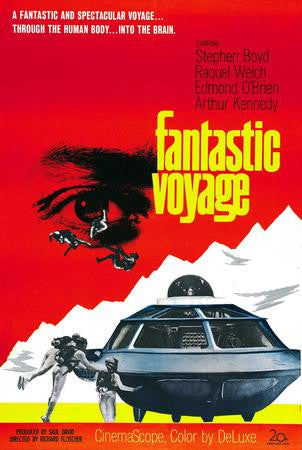 Fantastic Voyage Poster Art #1 24x36 - Fame Collectibles