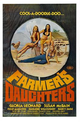 Farmers Daughters Movie Poster 24x36 - Fame Collectibles
