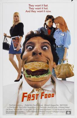 Fast Food Movie Poster 24x36 - Fame Collectibles