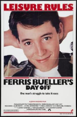 Ferris Buellers Day Off Movie Poster 24in x 36in - Fame Collectibles