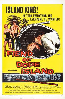 Fiend Of Dope Island Movie Poster 24x36 - Fame Collectibles
