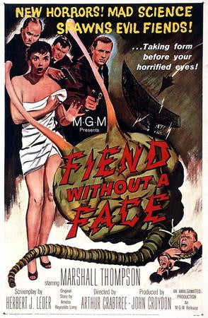 Fiend Without A Face Poster Art 24x36 - Fame Collectibles