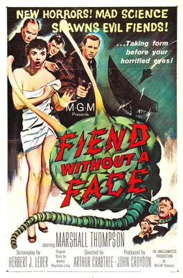 Fiend Without A Face Movie Poster 24x36 - Fame Collectibles