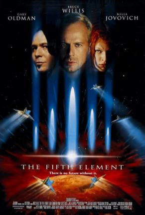 Fifth Element The Movie Poster 24x36 - Fame Collectibles