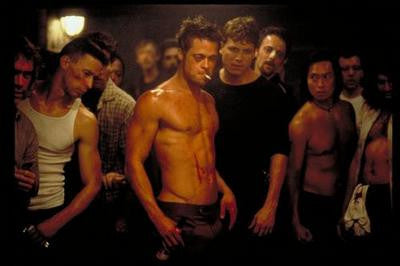 Fight Club Brad Pitt Movie Poster 24x36 - Fame Collectibles