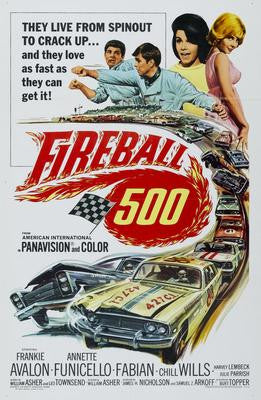 Fireball 500 Movie Poster 24x36 - Fame Collectibles