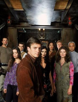 Firefly Poster Cast 24x36 - Fame Collectibles