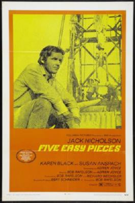 Five Easy Pieces Movie Poster 24in x 36in - Fame Collectibles