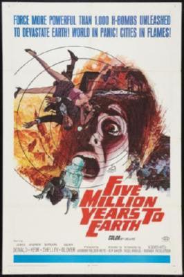 Five Million Years Movie Poster 24in x 36in - Fame Collectibles