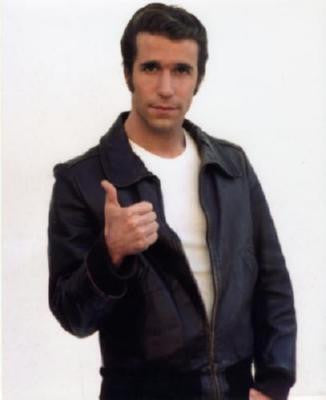 Fonzie Henry Winkler Poster 24in x 36in - Fame Collectibles