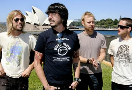 Foo Fighters Poster Sydney Opera House 24x36 - Fame Collectibles