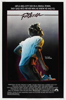 Footloose Movie Poster 24x36 - Fame Collectibles