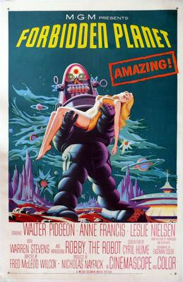 Forbidden Planet Vt Movie Poster 24x36 - Fame Collectibles