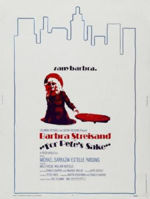 For Petes Sake Poster Barbara Streisand 24inx36in - Fame Collectibles