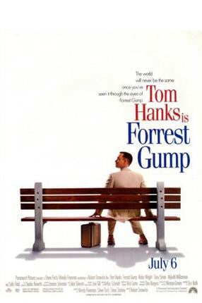 Forrest Gump Movie Poster 24x36 - Fame Collectibles