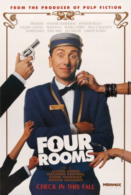 Four Rooms Movie Poster Puzzle Fun-Size 120 pcs - Fame Collectibles