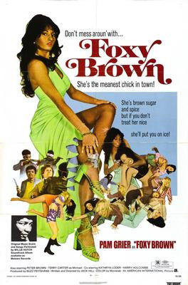 Foxy Brown Pam Grier Movie Poster 24x36 - Fame Collectibles