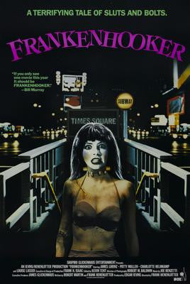 Frankenhooker Movie Poster 24x36 - Fame Collectibles