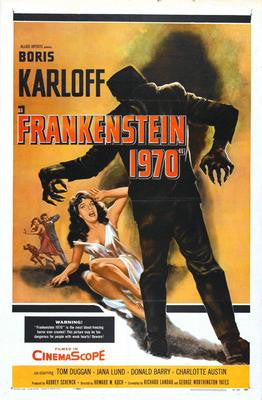 Frankenstein 1970 Movie Poster Puzzle Fun-Size 120 pcs - Fame Collectibles