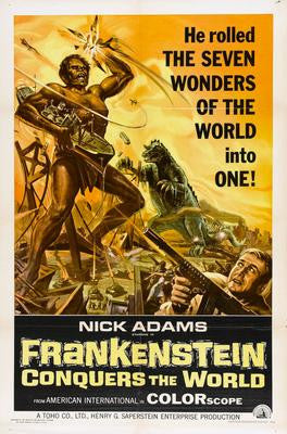 Frankenstein Conquers The World Movie Poster Puzzle Fun-Size 120 pcs - Fame Collectibles