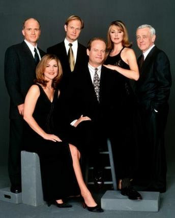 Frasier Cast Poster 24x36 - Fame Collectibles