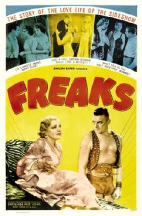 Freaks Movie Poster 24in x 36in - Fame Collectibles