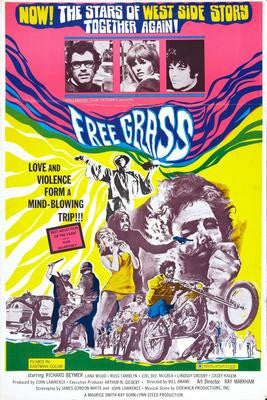 Free Grass Movie Poster 24x36 - Fame Collectibles