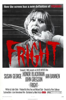 Fright Movie Poster 24x36 - Fame Collectibles