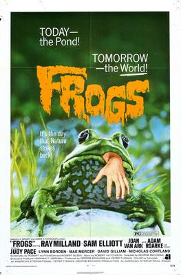 Frogs Movie Poster 24x36 - Fame Collectibles