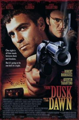 From Dusk Till Dawn Movie Poster 24x36 - Fame Collectibles