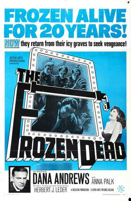 Frozen Dead The Movie Poster 24x36 - Fame Collectibles