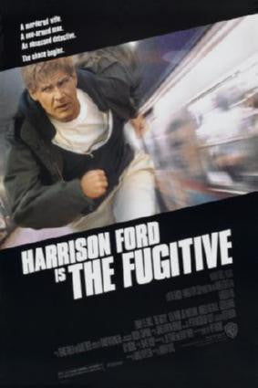 Fugitive The Movie Poster 24in x 36in - Fame Collectibles